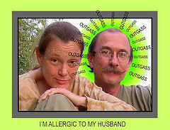 I'M ALLERGIC TO MY HUSBAND