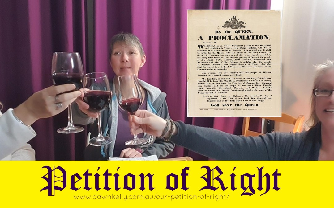 IMPORTANT DETAILS – THE PETITION OF RIGHT