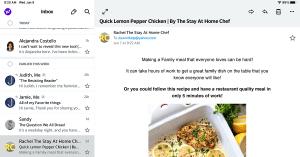 Yahoo and one inbox