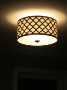 Light fixture in Evan's room. Love it!
