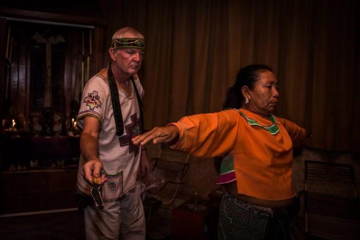 Shaman of Ayahuasca and Huachuma Ceremonies