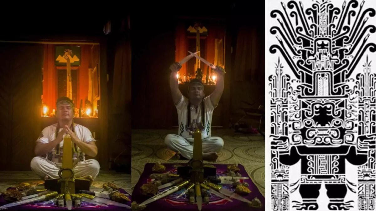 A record of Ayahuasca Visions