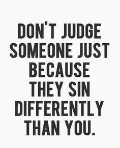 different sin