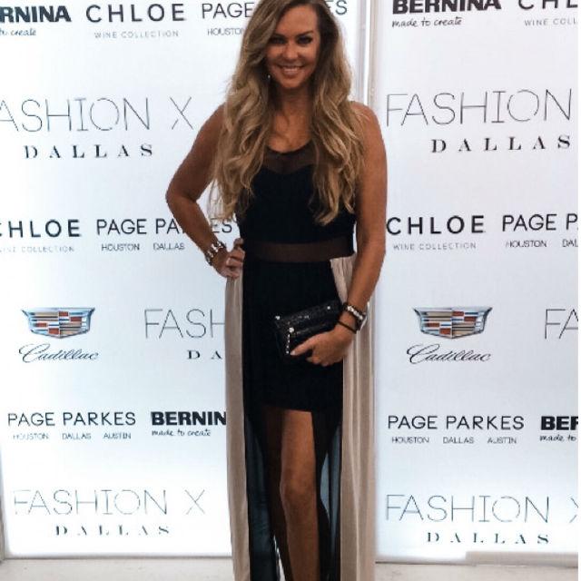 Dawn Rochelle Warner Model Fashion Show