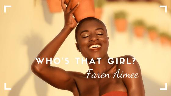 Model Faren Aimee
