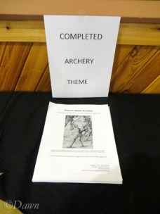The winning project in the completed Archery-themed category