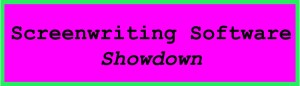 screenwriting software showdown sign - Blog