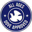 the all ages dove approved seal