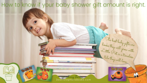 how to know if your baby shower gift amount is right. The best baby gifts are books they will grow with. Little Pot is a timeless tale they will love.