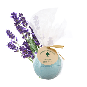 Relaxing, soothing, calming, Fizz Bomb for a perfect bath time Lavender