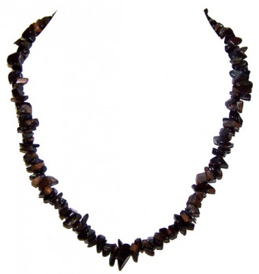 Blue Tiger's Eye Chip necklace