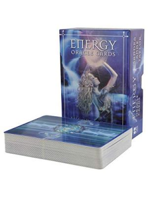 Energy Oracle Cards A 53-Card Deck and Guidebook by Taylor, Sandra Anne