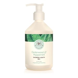 AA Skincare - Cedarwood & Peppermint Shower & Bath Gel 500ml