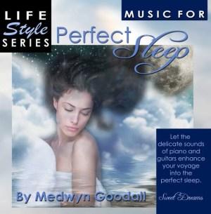 Perfect Sleep CD, Medwyn Goodall relaxation, meditation, therapy