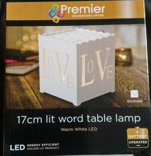 Premier Table Light Warm Leds 17cm