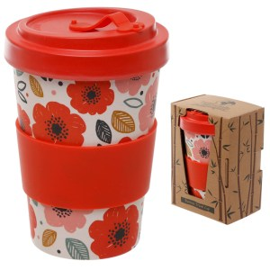 Bamboo Eco Friendly Screw Top Travel Mugs