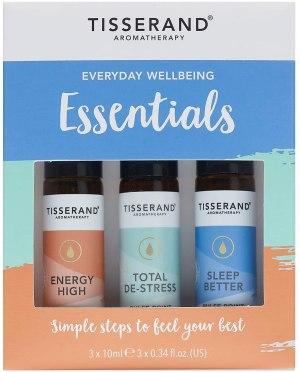 Tisserand Aromatherapy Everyday Wellbeing Essentials Roller Ball Kit