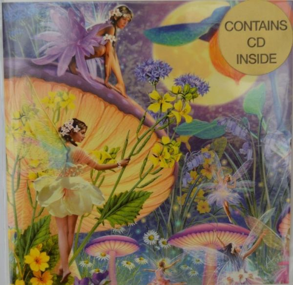 Greeting Card Plus Faerie Music CD