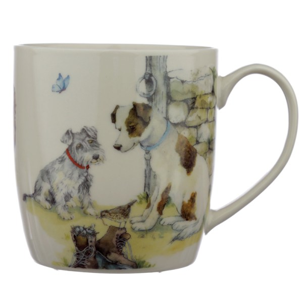 Collectable Porcelain Mug - Jan Pashley Dog Design