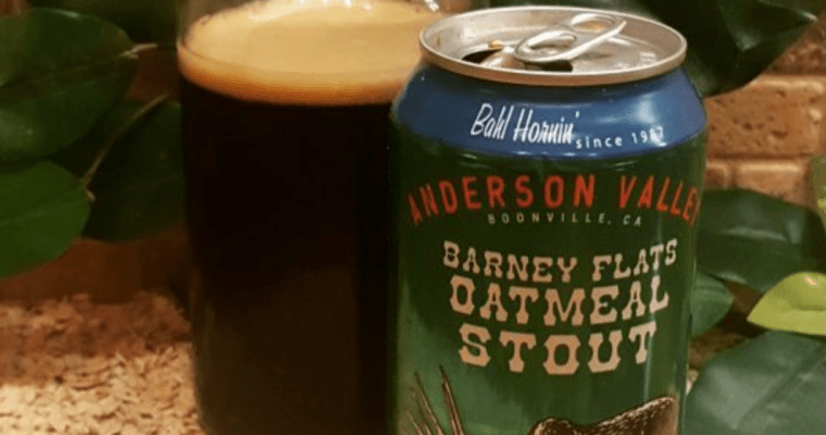 Anderson Valley Brew (Boonville, CA): Barney Flats Oatmeal Stout