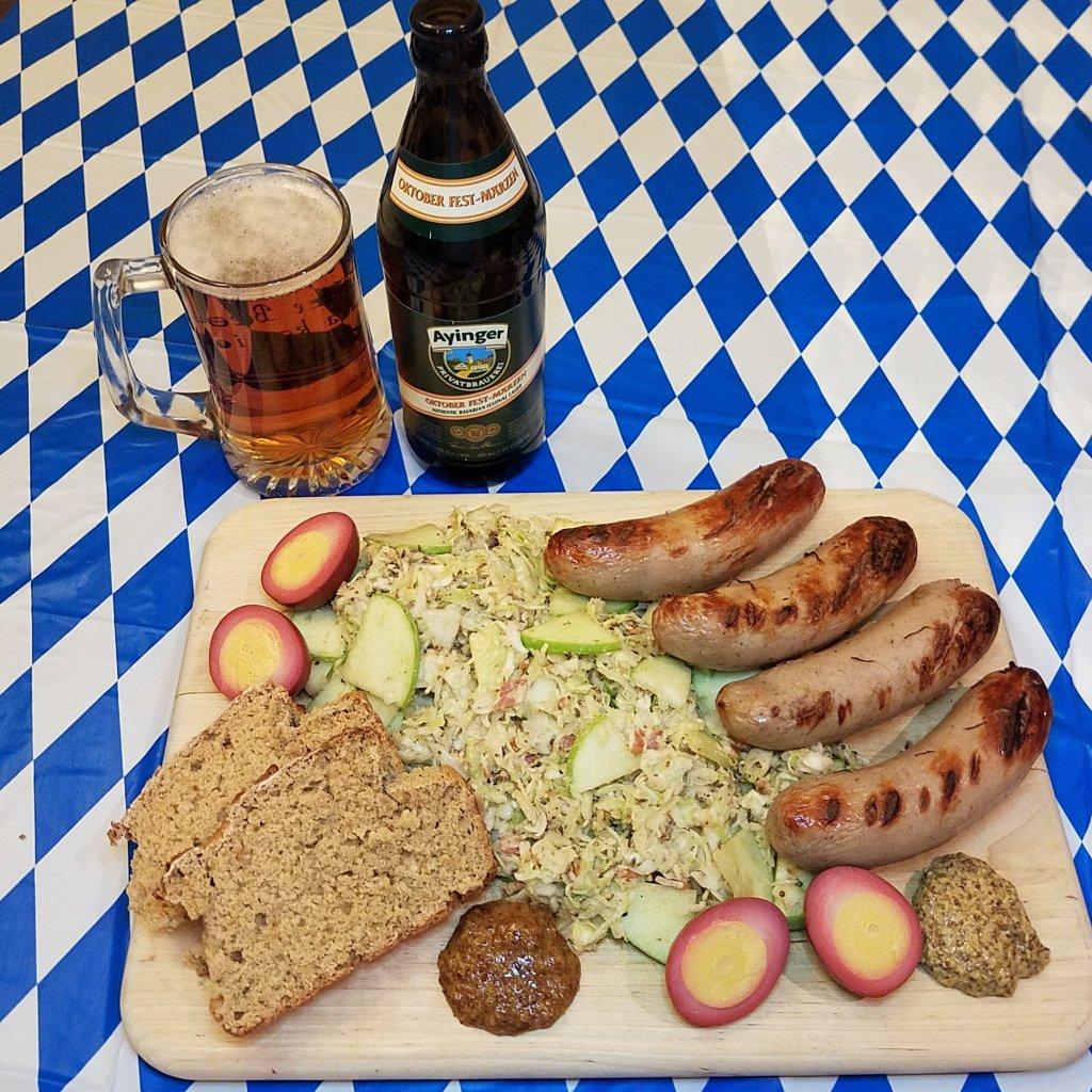 Oktoberfest: Bavarian Beer & Bacon Salad (Krautsalat)