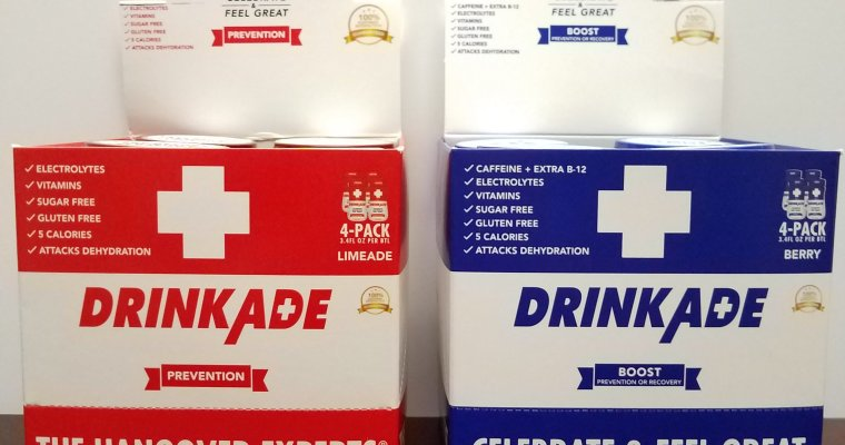 "DrinkAde: ""Celebrate & Feel Great"""
