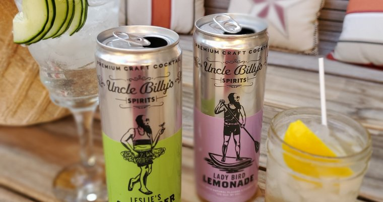 Uncle Billy's Brewery Canned Craft Cocktails