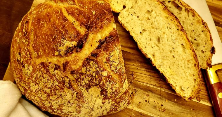 EASY NO KNEAD ARTISAN BREAD FOR BEGINNERS