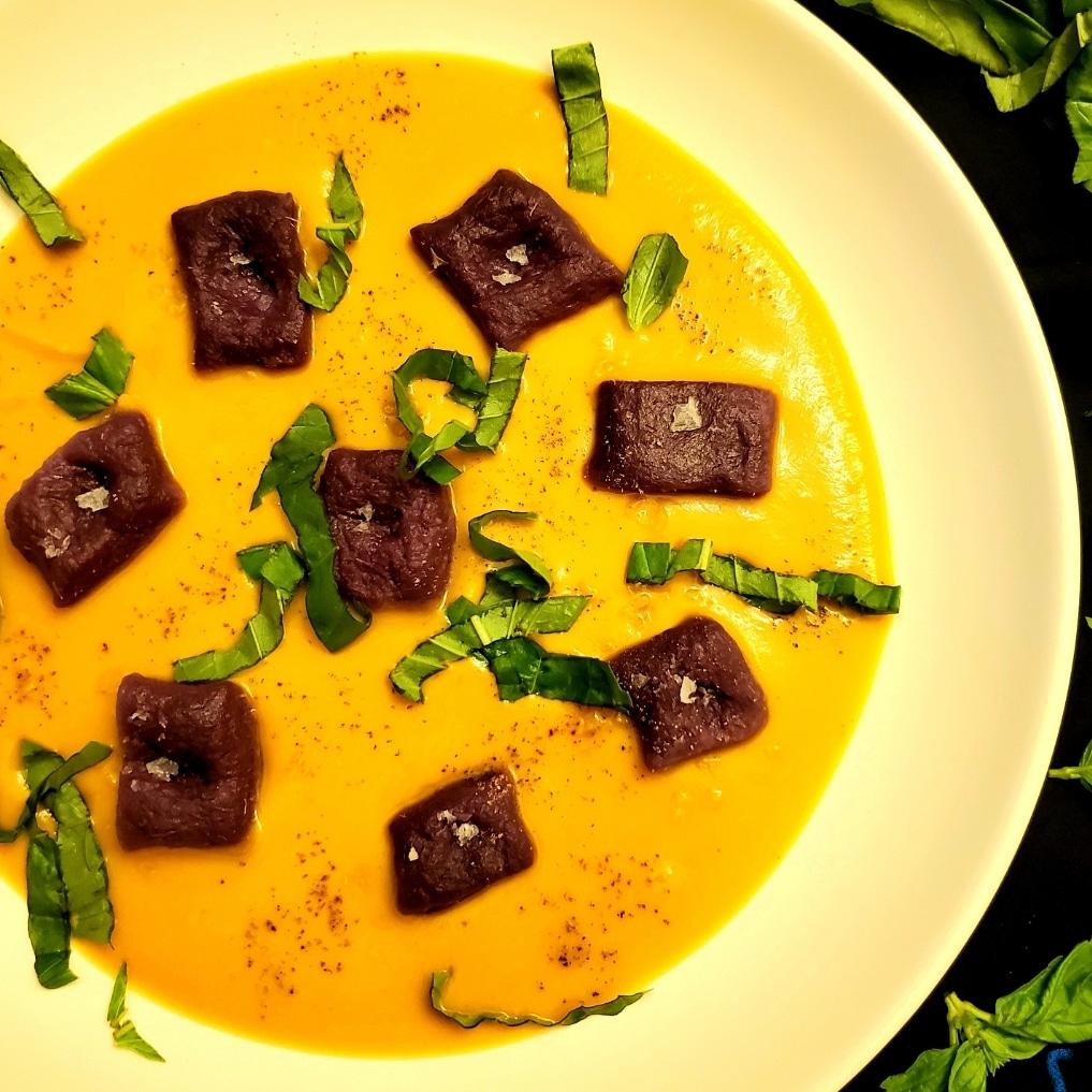Purple Sweet Potato Gnocchi