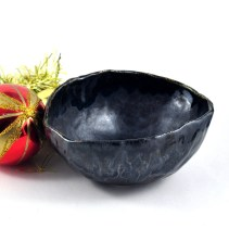 Dawn Whitehand black bowl