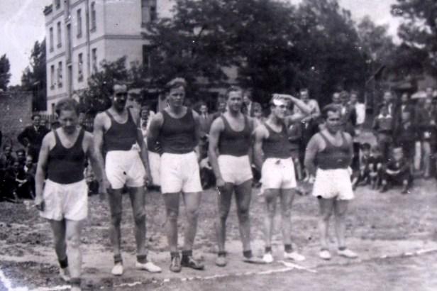 1952 - mecz z AZS Warszawa