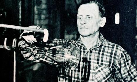 Henryk Gniadowski - dowódca sekcji, strażak o najdłuższym stażu