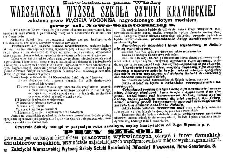 Kurjer Warszawski. R.85, nr 293 (23 października 1905)