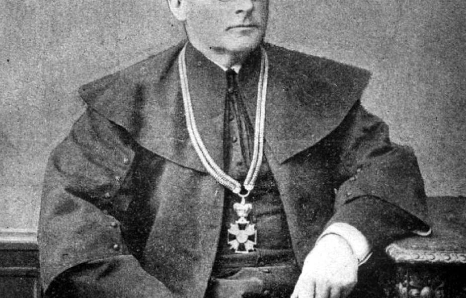 Ksiądz Kanonik Franciszek Ksawery Marmo, proboszcz parafii Kobyłka