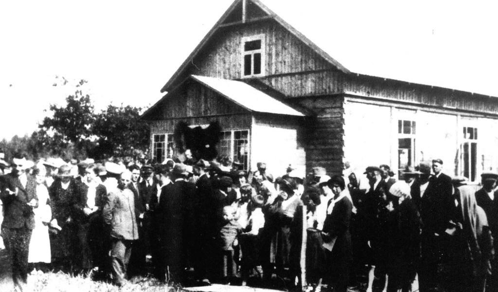 Kościół w Nadbieli, 1930