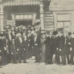 Uroczystość otwarcia schroniska w Drewnicy w dniu 12 maja 1903 r.