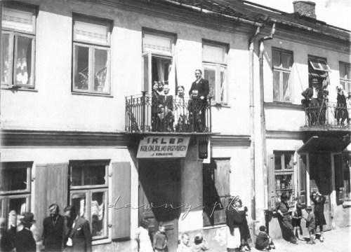 Ten sam budynek, lata 30 XX w.