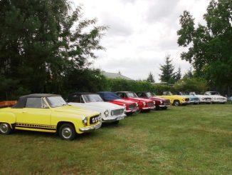 Die Cabrioparade wartet auf Besucher. Foto: Jürgen Haink