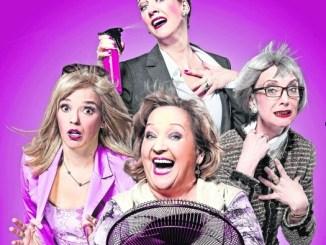 Vier Damen kämpfen sich mit den verschiedensten Grundvoraussetzungen durch die Wechseljahre.