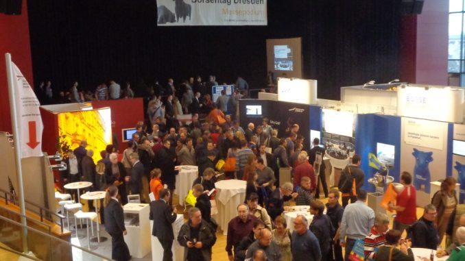 Der Börsentag lockt zahlreiche Finanzinteressierte in das Kongresszentrum. Foto: PR