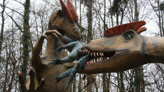 Realitätsnahe Dinosaurier entführen in längst vergessene Welten. Foto: Franziska Sommer