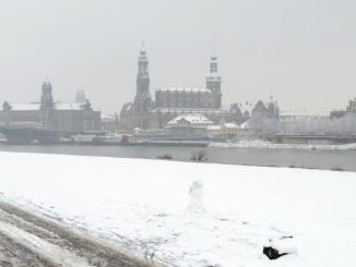 Auch wenn wir heute noch schwitzen - das Thema Weihnachten in Dresden ist jetzt schon präsent. Foto: DAWO
