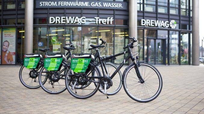 Herausforderungen der Energiewende werden in Dresden präsentiert und diskutiert. Mit dabei sind auch neue Möglichkeiten, wie das neue Elektro-Fahrrad. Foto: Oliver Killig