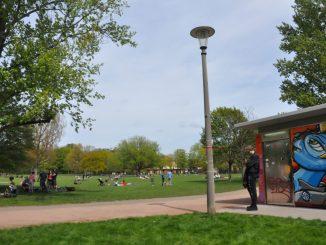 Der Alaunpark. Foto: Una Giesecke
