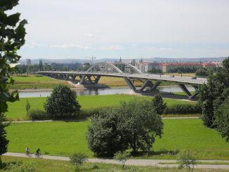 Über Waldschlößchenbrücke wird noch gestritten. Foto: Ove Landgraf