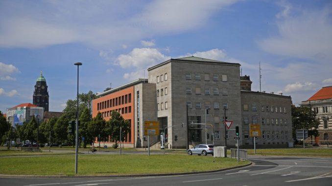 Ein privater Investor will das Ex-Nundesbank gebäude künftig nutzen. Foto: Thomas Türpe