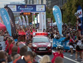 Der Centrum Galerie Dresdner Nachtlauf lädt zahlreiche Läufer aus allen Teilen der Republik und sogar aus Tschechien nach Dresden ein. Foto: PR
