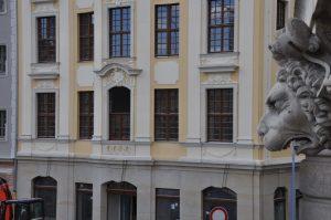 Aus diesem Fenster malte Bernardo Bellotto den Neumarkt zu Dresden. Foto: Una Giesecke