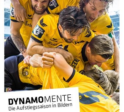 Die schönsten Momente der vergangenen Saison von Dynamo Dresden gibt es jetzt in einem Buch. Foto: PR