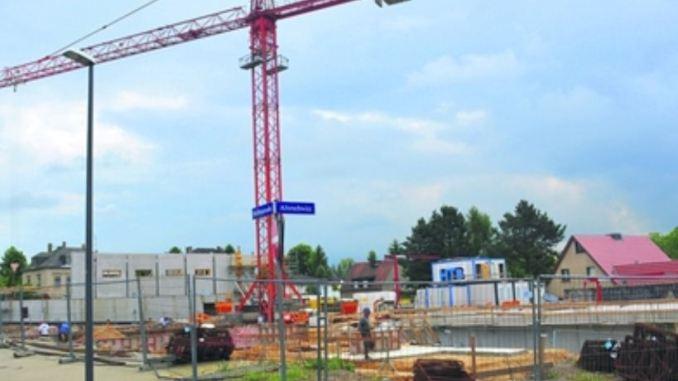 Baustelle der Grundschule in Dresden-Rochwitz Foto: Wolf